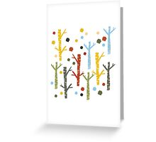 woodland forest Greeting Card