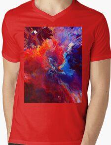 FÁRI Mens V-Neck T-Shirt