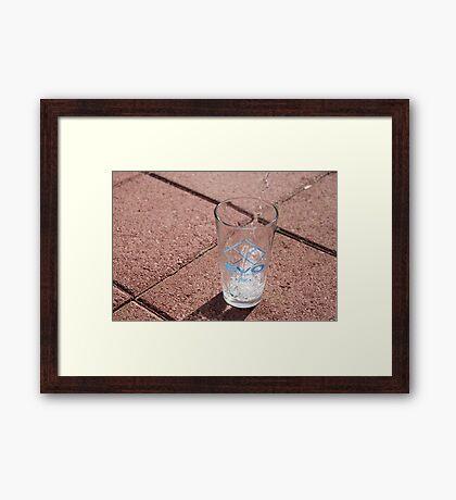 EVO Glass Framed Print