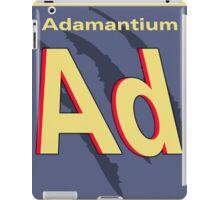 Adamantium Periodic Element iPad Case/Skin