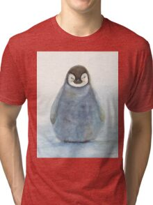 Baby Emperor Penguin Tri-blend T-Shirt