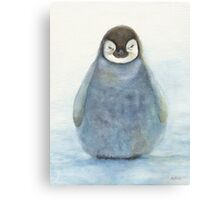 Baby Emperor Penguin Canvas Print