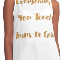 Golden Touch Contrast Tank