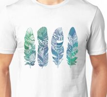 Never too many Feathers Unisex T-Shirt