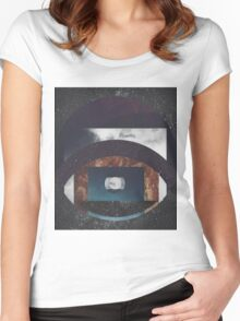 Nature Abstract  Women's Fitted Scoop T-Shirt