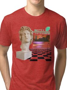 Macintosh Plus - Floral Shoppe Tri-blend T-Shirt