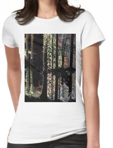 Colorado Trees Series  Womens Fitted T-Shirt