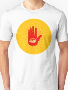 Hand and eye Unisex T-Shirt