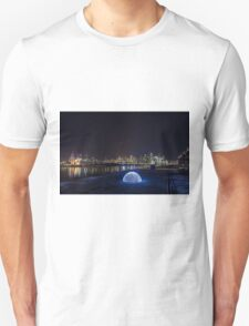 Light Dome at the Docklands, Melbourne Unisex T-Shirt