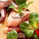 Matjes mit Salat und Pumpernickel | 2 by SmoothBreeze7