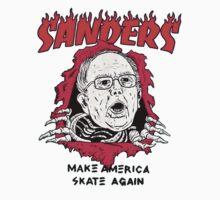 Bernie Sanders - Make America Skate Again Kids Tee