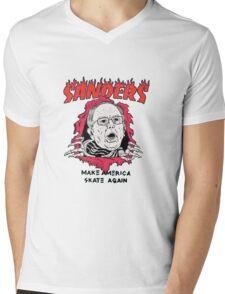 Bernie Sanders - Make America Skate Again Mens V-Neck T-Shirt