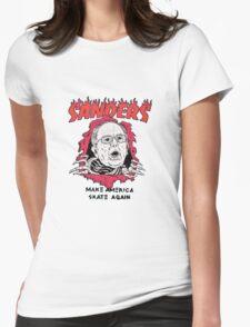 Bernie Sanders - Make America Skate Again Womens Fitted T-Shirt
