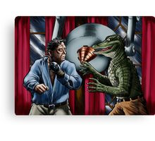 Alligator People Canvas Print