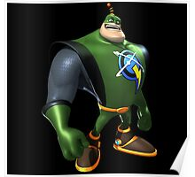 Captain Qwark From Ratchet And Clank Film Poster