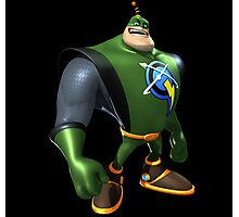 Captain Qwark From Ratchet And Clank Film Photographic Print