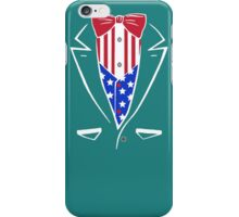 American Patriot Tuxedo iPhone Case/Skin