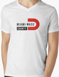 Miami-Wade County Mens V-Neck T-Shirt