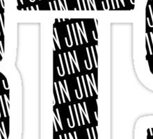 BTS/Bangtan Boys Logo/Font + Jin Sticker