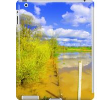 BACK FROM THE YORKSHIRE DALES iPad Case/Skin
