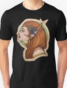 Keyleth: the Half Elf Druid Unisex T-Shirt