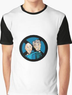 Magneto and Professor X: Old Friends Graphic T-Shirt