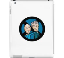 Magneto and Professor X: Old Friends iPad Case/Skin