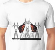 Powerlines with guns Unisex T-Shirt