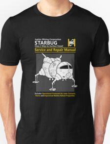 Starbug Service and Repair Manual Unisex T-Shirt