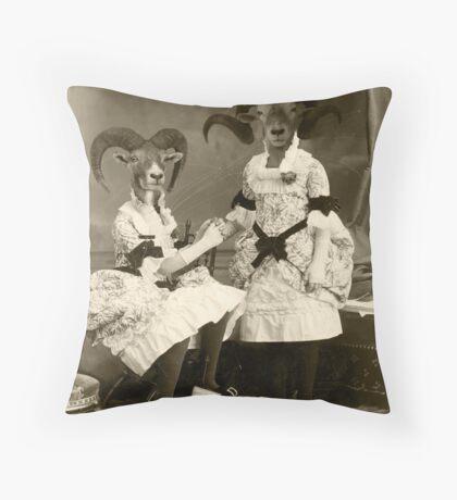 Suspect Parentage Throw Pillow