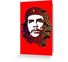 Che Guevara Revolution Greeting Card