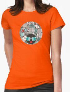White bird Womens Fitted T-Shirt
