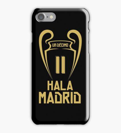 Hala Madrid Champions 11 iPhone Case/Skin