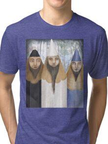 Three Pencilheads  Tri-blend T-Shirt