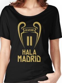 Hala Madrid Champions 11 Women's Relaxed Fit T-Shirt