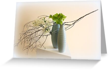 Floral display by Kerry  Hill