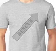 FIGHTER RESCUE - Stealth Unisex T-Shirt