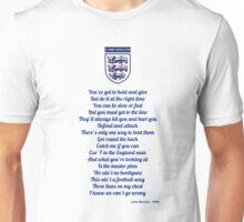 E for England Unisex T-Shirt