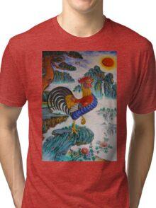 cockerel Tri-blend T-Shirt