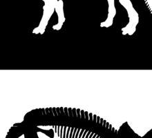 Triceratops skeleton Sticker