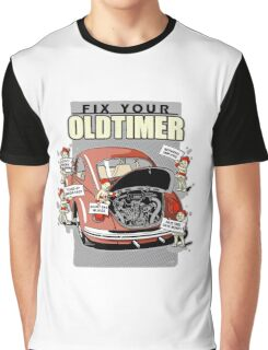 Fix your Oldtimer - Beetle 2 Graphic T-Shirt