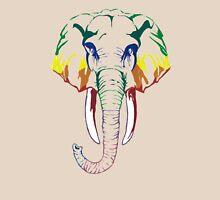 Rainbow elephant Unisex T-Shirt