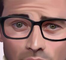 Matt with glasses and kittens Sticker