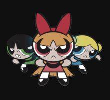 Powerpuff Girls - Angry One Piece - Long Sleeve
