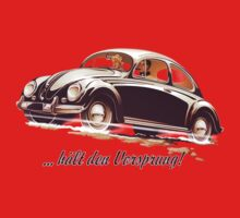 Beetle Car keeps the Lead (V.1) One Piece - Short Sleeve