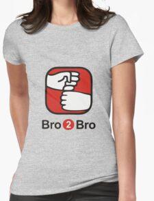 Bro 2 Bro Womens Fitted T-Shirt