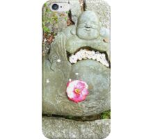 Good Fortune buddha , Japon iPhone Case/Skin