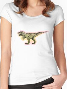 Trex for girls Women's Fitted Scoop T-Shirt