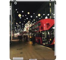 Midnight Oxford Street London in Christmas iPad Case/Skin