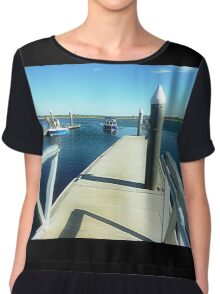 *Returning home to safe Harbour - Werribee South* Chiffon Top